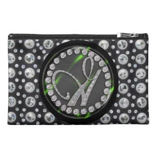 rhinestone g travel accessories bag