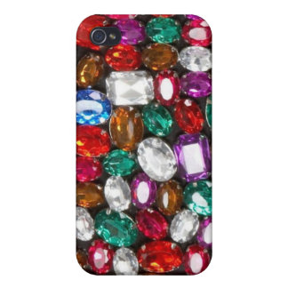 Rhinestone, jewels & Gem Bliss Set Iphone case iPhone 4/4S Cases