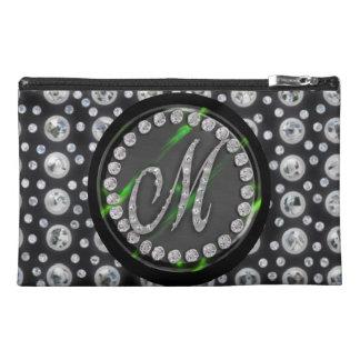 rhinestone m travel accessories bags