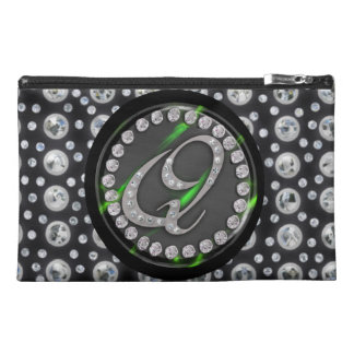 rhinestone q travel accessories bag