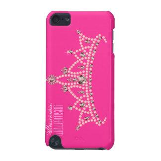 Rhinestone Tiara iPod Touch Case (fuchsia)