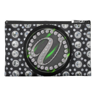 rhinestone v travel accessories bags