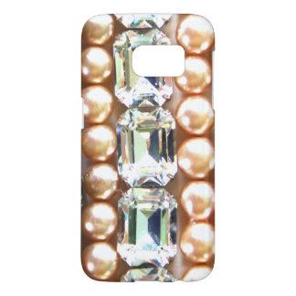 Rhinestones and pearls - vintage jewelry