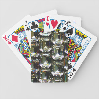 Rhinestones Bicycle Playing Cards