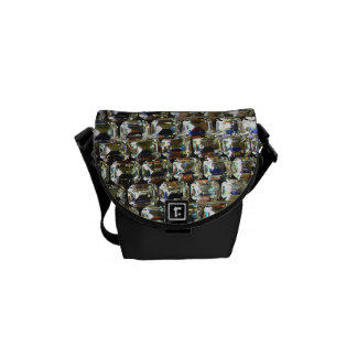 Rhinestones Commuter Bag
