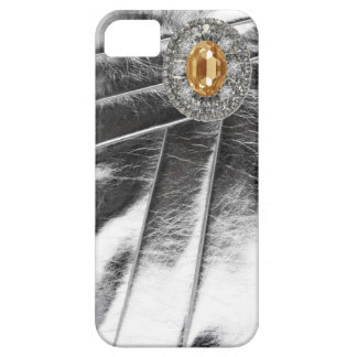 Rhinestones & Metallic leather Look IPhone Case Case For The iPhone 5
