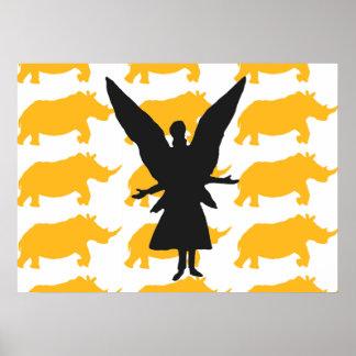 Rhino Angels Poster