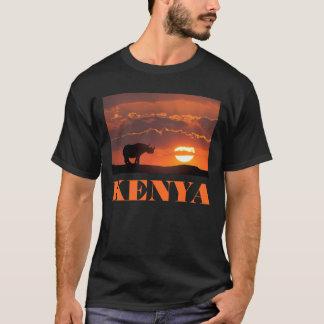 Rhino at sunset, Masai Mara, Kenya T-Shirt