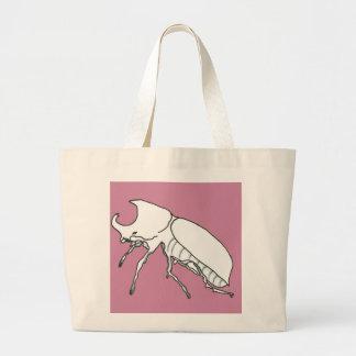 Rhino Beetle Jumbo Tote Bag