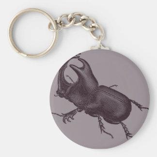 Rhino Beetle, Scarabeus Chorinaeus Key Ring