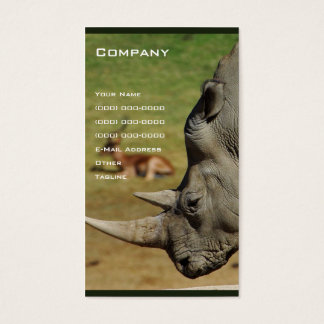 Rhino Business Card