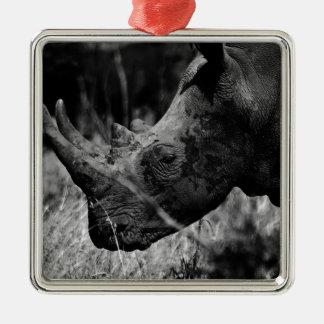 Rhino Christmas Ornament