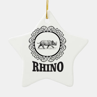 rhino club christmas ornament