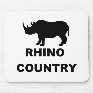 Rhino Country Mouse Mat