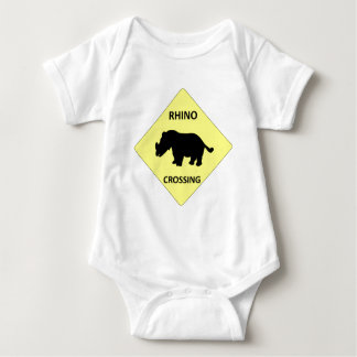 Rhino Crossing Baby Bodysuit