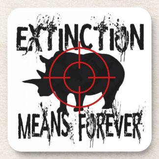Rhino Extinction1 Coaster