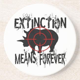 Rhino Extinction1 Coaster