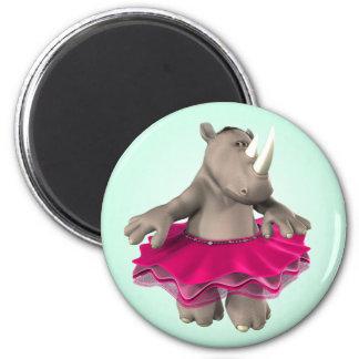 Rhino Green Magnet