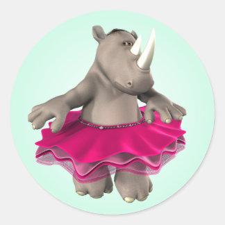 Rhino Green Sticker