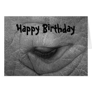 Rhino, Happy Birthday Greeting Cards
