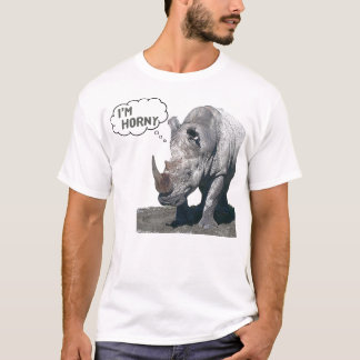 Rhino Humor T-Shirt