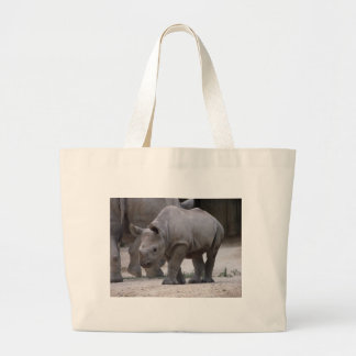 Rhino Large Tote Bag