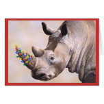 Rhino & Lights card