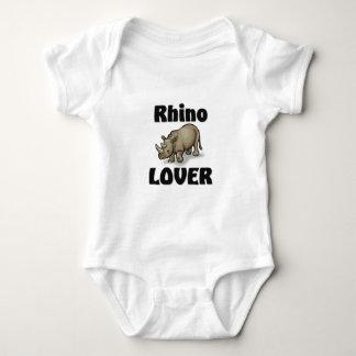 Rhino Lover Baby Bodysuit