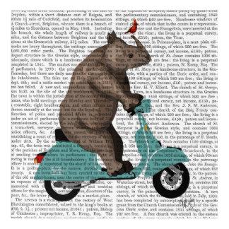 Rhino on Moped Acrylic Wall Art