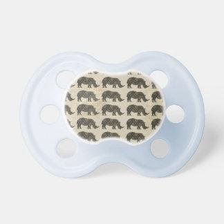 Rhino Pattern Pacifier
