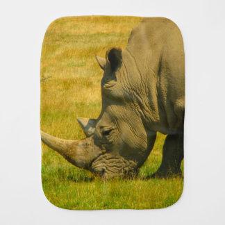 Rhino Photo Burp Cloth