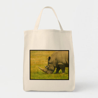 Rhino Photo Grocery Tote Bag
