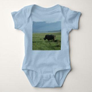 Rhino poop baby bodysuit