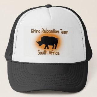 Rhino Relocation Team Safari Cap