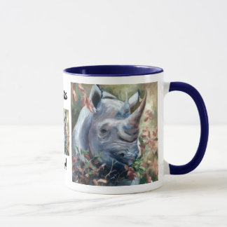 Rhino Rhinos rule Mug