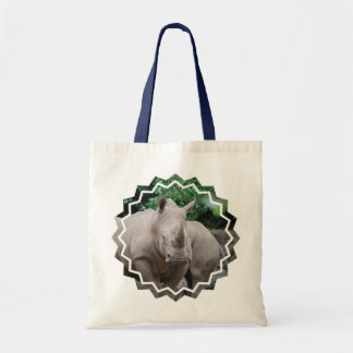 Rhino Romp Canvas Bag