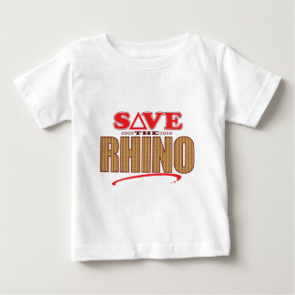 Rhino Save Baby T-Shirt