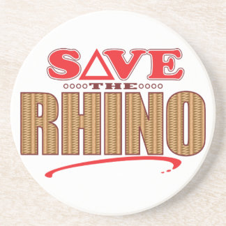 Rhino Save Coaster