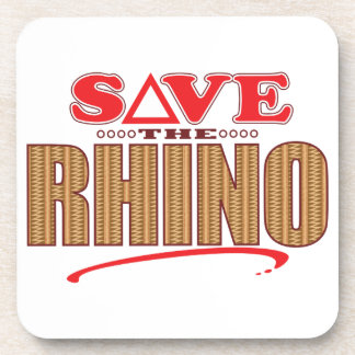 Rhino Save Coaster