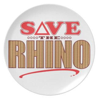 Rhino Save Plate