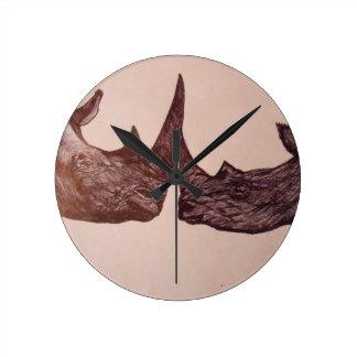 Rhino Wall Clocks