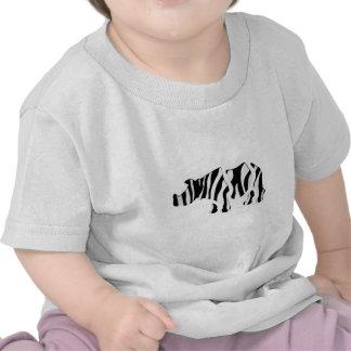 rhino zebra: Wild Mash-Up T Shirts