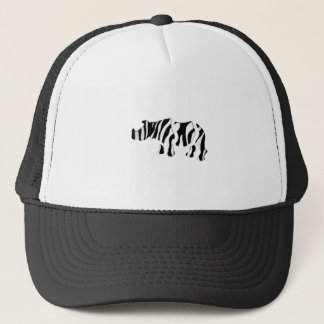 rhino zebra: Wild Mash-Up Trucker Hat