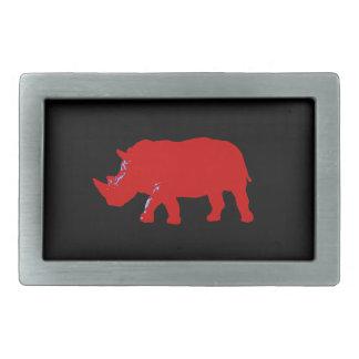 Rhinoceros Belt Buckles