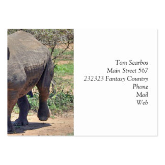 rhinoceros pack of chubby business cards