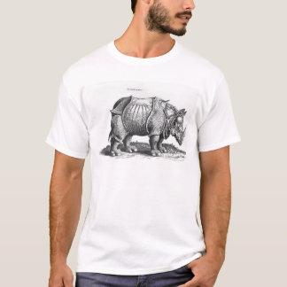 Rhinoceros, from 'Historia Animalium' T-Shirt
