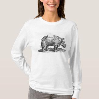 Rhinoceros, from 'Historia Animalium' T-Shirt