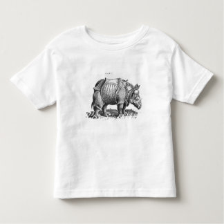 Rhinoceros, from 'Historia Animalium' Toddler T-Shirt
