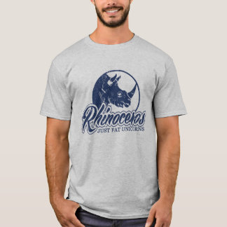 Rhinoceros Just Fat Unicorns T-Shirt