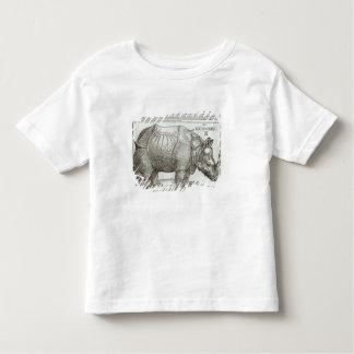 Rhinoceros, print given to Maximilian I (1459-1519 Toddler T-Shirt